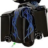 アレンネス Arlen Ness リアーフェンダーキット バガー デュアルマフラー用未塗装 97年-08年 FLT テールライト等無し 1401-0463 06-478