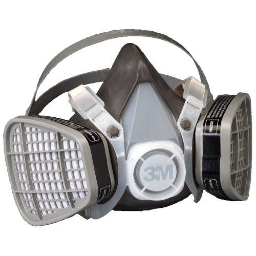 3M Half Facepiece Disposable Respirator Assembly 5301, Organic Vapor Respiratory Protection, Large(Pack of 1)