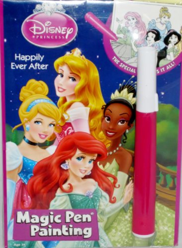 Princess Happily Ever After Magic Pen Painting