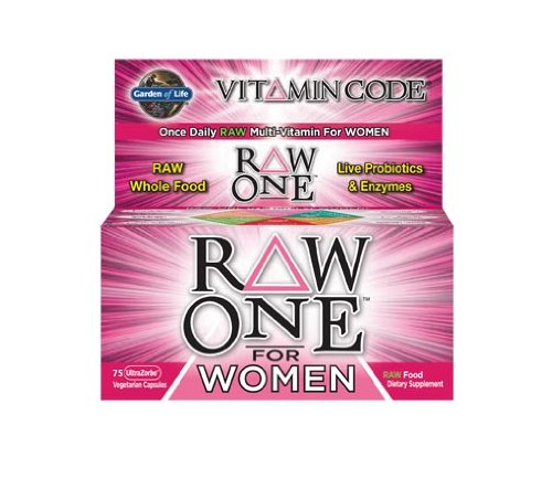 Garden Of Life Vitamin Code Raw One For Women Nutritional