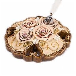 Weddingstar 9294 Elegant Vintage Rose Pen with Holder