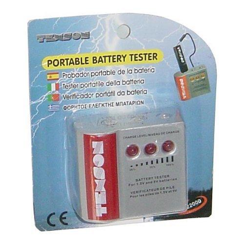 Texson 22000 Portable Testeur de piles AA/AAA/C/D/PP3 Affichage de contrôle de niveau de Charge