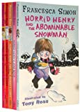 Horrid Henry's Collection 5 Books Set Pack RRP: £24.95 (Horrid Henry's And the Abominable Snowman, Horrid Henry and the Secret Club, Horrid Henry's and the Bogey Babysister, Horrid Henry Meets the Queen, Horrid Henry's Underpants)Paperback