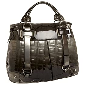 Endless.com: Rampage Cassia Large Satchel: Satchels - Free Overnight Shipping & Return Shipping