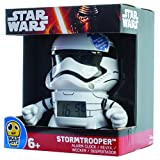 Kanaï Kids Kkcmini3 ? Reloj despertador ? Storm Trooper Star Wars ? 9 cm ? , Multicolor