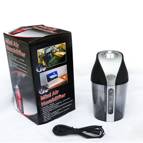 humidifier with auto shut off quietcare for home office bedroom car