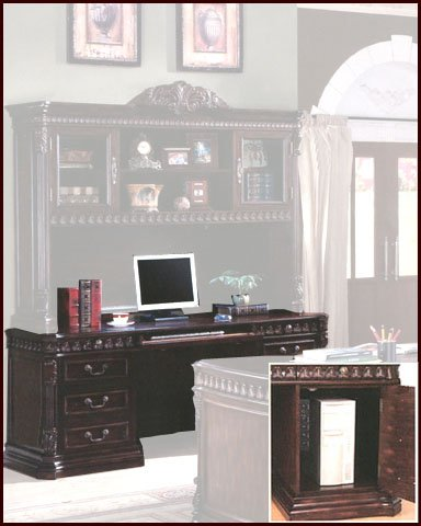 Buy Low Price Comfortable Rich Brown Computer Desk CO-800801B (B0028TELB0)