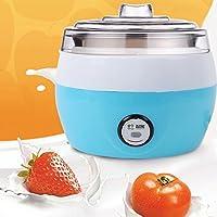Maike Mall 1 L Yoghurt Maker Automatic Machine Healthy Home Made Electric Tool Us Plug,220 V (Blue)