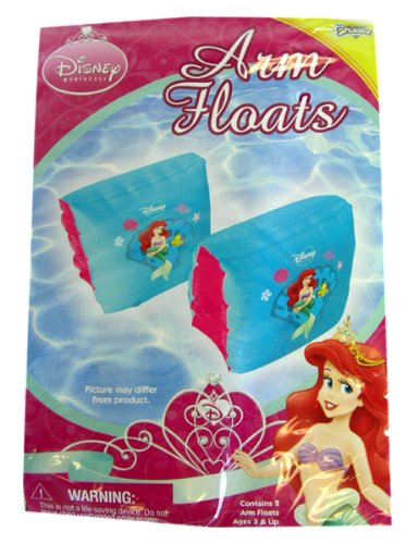 Disney Princess water toys- Ariel, the Little Mermaid arm floats