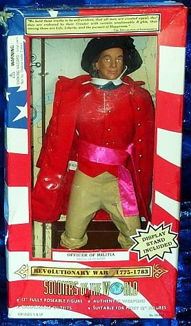 Buy Low Price Formative International Soldiers of the World OFFICER OF MILITIA AMERICAN INFANTRY Revolutionary War 1775-1783 Figure (B000V9A39I)
