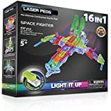 Laser Pegs 16-in-1 Space Fighter Building Set