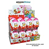 Kinder Joy With Surprise Inside - Sold by CHOCALLATES.USA (Girls display w/16 eggs)