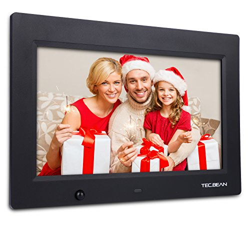 TEC.BEAN 10.1-Inch 16G HD Digital Photo Frame with Built-in Storage Motion Sensor Digital Picture Frame MP3 Video Player, Black (Photo Digital Storage compare prices)