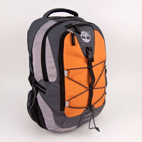 Timberland 41326-1070 High Alpine Laptop Backpack (Black/Orange)
