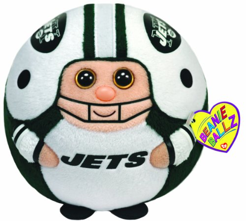 Ty Beanie Ballz New York Jets - Medium at Amazon.com