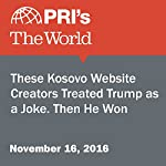These Kosovo Website Creators Treated Trump as a Joke. Then He Won. | Nate Tabak