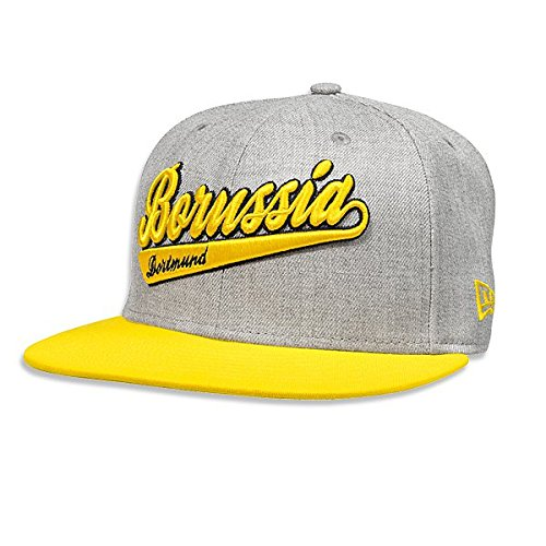 Cap BVB 59FIFTY grau (silbergrau) Large