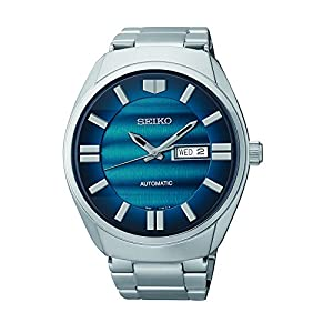 Seiko Men's SNKN03 Analog Display Japanese Quartz Silver Watch