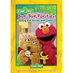 Sesame Street: Bye-Bye Pacifier Big Kid Stories