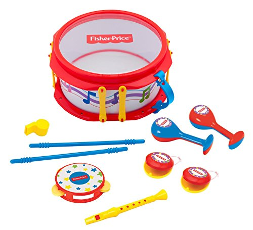 Fisher Price Music Musical Band Drumset (Fisher Drum Set compare prices)