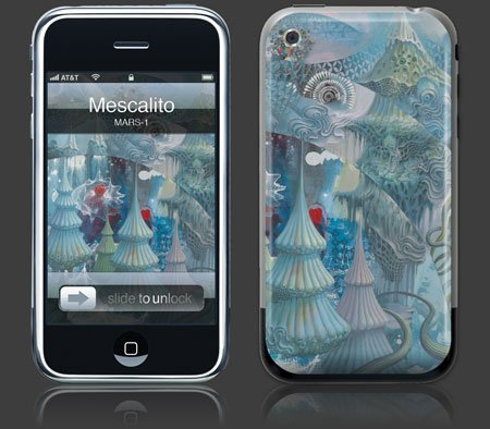 Apple iPhone Premium Vinyl Skin - Mescalito (Gelaskins Brand) Made in Canada