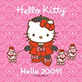 Hello Kitty Hello 2009! Wall Calendar: (with stickers)