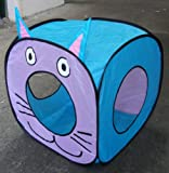 Big Cat Fun Cube - Pop Up Play Cube for Larger Cats