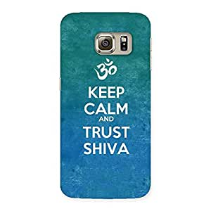 Special Trust Shiva Back Case Cover for Samsung Galaxy S6 Edge Plus