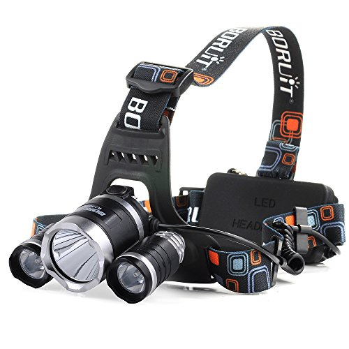 VicTsing 3000Lumen CREE XM-L XML 3 x T6 LED Headlight
