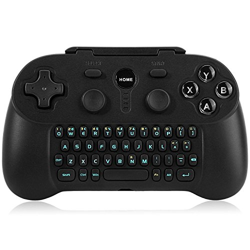 Mini Wireless Bluetooth Qwerty Keyboard Chat Pad Chatpad Keypad Text Messenger Gamepad Adapter Wireless Bluetooth Gamepad Game Gaming Controller (Samsung S3 Mini Refurbished compare prices)