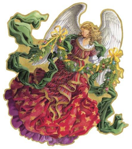 Caspari Victorian Angel - Gorgeous Die Cut Advent Calendar
