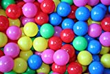 Bentley Kids - Pack de 100 bolas de colores para piscina de bolas de interior o exterior