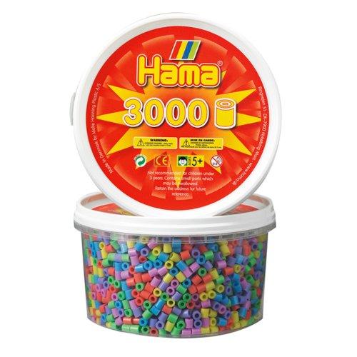 hama-210-50-3000-perline-pastello-assortite-in-scatola