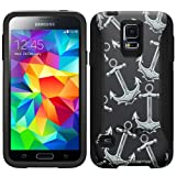 Otterbox Commuter Anchors on Black Case for Samsung Galaxy S5