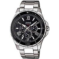 Casio Enticer Black Dial Men's Watch - MTD-1075D-1A1VDF (A788)
