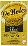 DeBoles Gluten Free Corn Elbow Style Pasta, 12-Ounce (Pack of 12)