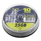 """Platinum 25 GB BD-R Blu-ray-Rohlinge (6x Speed) in 10er Spindelvon """"Platinum"""""""