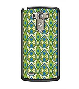 PrintDhaba Pattern D-5407 Back Case Cover for LG G3 (Multi-Coloured)