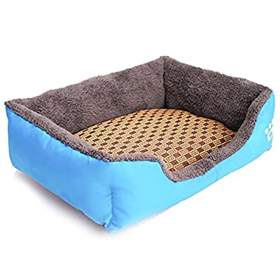 REXSONN Modern Removable Ultra Soft Warm Pet Bed Puppy Dog Mat Pad Cat Sleeping Cushion Suits for Daily Use