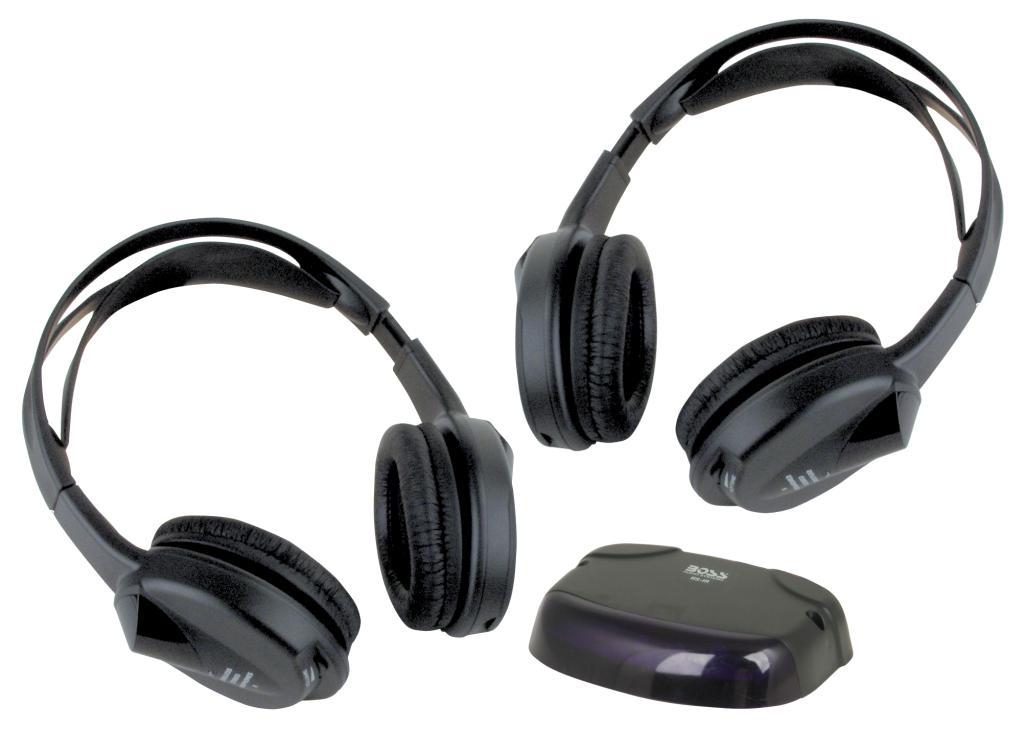 Новый Pyle plvwh6 двойной беспроводной ИК мобильный видео стерео наушники w