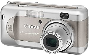 Canon PowerShot A420 Point & Shoot Digital Camera With 4X MP & 3.2x Optical Zoom
