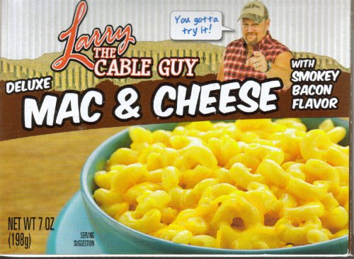 Larry the Cable Guy Deluxe Mac and Cheese with Smokey Bacon Flavor