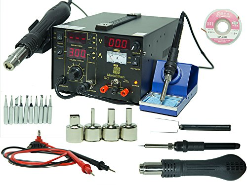 3-in-1-Soldering-Iron-Rework-Station-Hot-Air-Gun-853D-DC-10-Tips-welder-3-in-1-YIHUA