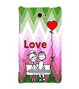 EPICCASE park love Mobile Back Case Cover For HTC One M10 (Designer Case)