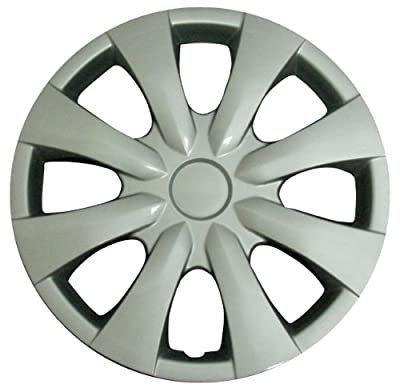 CCI IWC450-15S 15 Inch Clip On Silver Finish Hubcaps - Pack of 4