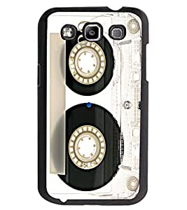 ColourCraft Retro Audio Cassette Design Back Case Cover for SAMSUNG GALAXY GRAND QUATTRO I8552 / WIN I8550