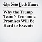 Why the Trump Team's Economic Promises Will Be Hard to Execute | Neil Irwin