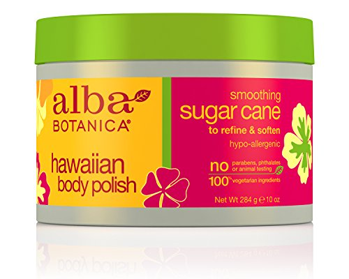 Alba Botanica Hawaiian, Sugar Cane Body Polish, 10 Ounce