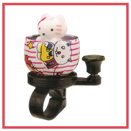 Kitty Bicycle Bell - Cute Cat Bike Bell, Kids Bike, Kitty Bell