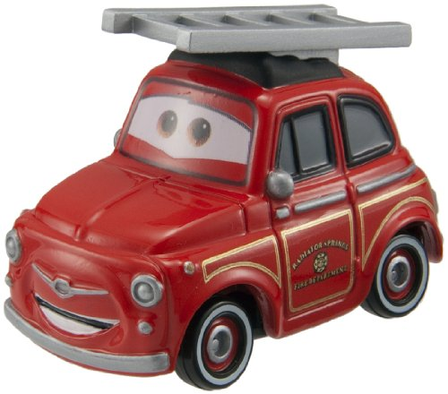 Tomica Cars Rescue Go Go Luigi (Fire Engine Type) - 1